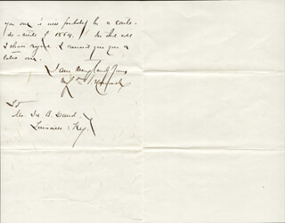 MAJOR GENERAL WINFIELD SCOTT HANCOCK - AUTOGRAPH LETTER SIGNED 02/01/1880