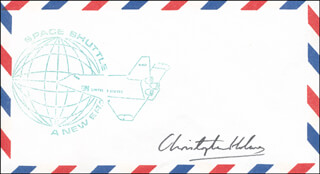 CHRISTOPHER HOLMES - ENVELOPE SIGNED