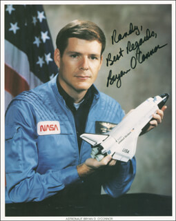 COLONEL BRYAN O'CONNOR - AUTOGRAPHED INSCRIBED PHOTOGRAPH