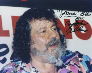 LOU ALBANO - AUTOGRAPHED SIGNED PHOTOGRAPH
