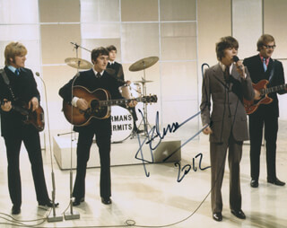 HERMAN'S HERMITS (PETER NOONE) - AUTOGRAPHED SIGNED PHOTOGRAPH 2012