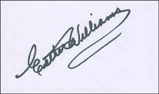 ESTHER WILLIAMS - AUTOGRAPH