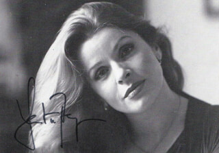 SENTA BERGER - AUTOGRAPHED SIGNED PHOTOGRAPH