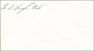 BERNARD A. HARRIS JR. - ENVELOPE SIGNED
