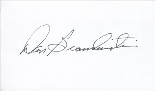 Autographs: CAPTAIN DANIEL C. BRANDENSTEIN - SIGNATURE(S)