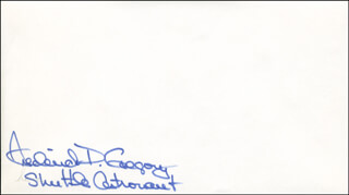 COLONEL FREDERICK D. GREGORY - ENVELOPE SIGNED