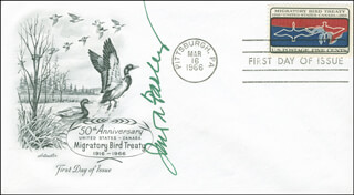 JAMES A. FARLEY - FIRST DAY COVER SIGNED
