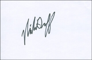 NICK GROFF - AUTOGRAPH