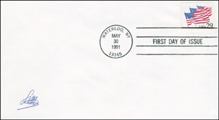 LOUIS MOYROUD - FIRST DAY COVER SIGNED