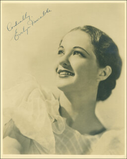 EVELYN VENABLE - AUTOGRAPHED SIGNED PHOTOGRAPH