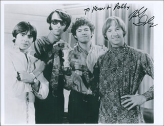 THE MONKEES (MICKEY DOLENZ) - AUTOGRAPHED INSCRIBED PHOTOGRAPH