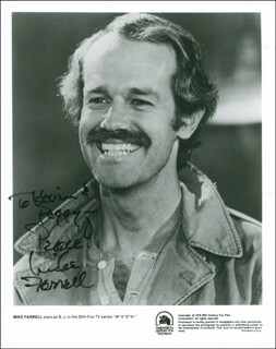 MIKE FARRELL - AUTOGRAPHED INSCRIBED PHOTOGRAPH