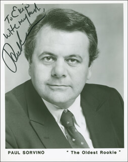 PAUL SORVINO - AUTOGRAPHED INSCRIBED PHOTOGRAPH
