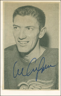 AL ARBOUR - NEWSPAPER PHOTOGRAPH SIGNED