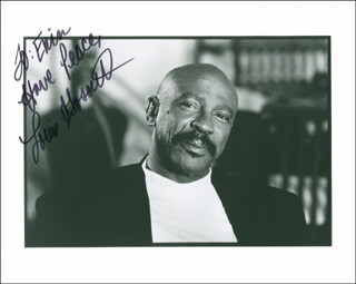 LOUIS GOSSETT JR. - AUTOGRAPHED INSCRIBED PHOTOGRAPH