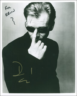 DAVID CARUSO - AUTOGRAPHED INSCRIBED PHOTOGRAPH