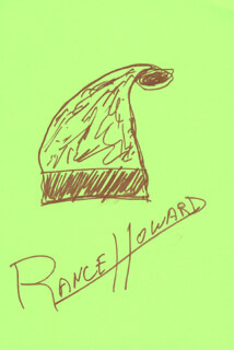 RANCE HOWARD - ORIGINAL ART SIGNED