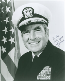 ADMIRAL ELMO R. ZUMWALT JR. - AUTOGRAPHED INSCRIBED PHOTOGRAPH
