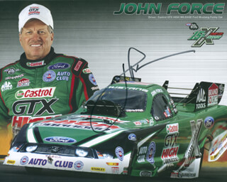 JOHN FORCE - AUTOGRAPHED SIGNED PHOTOGRAPH