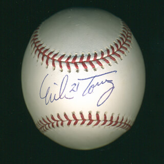 MIKE TORREZ - AUTOGRAPHED SIGNED BASEBALL