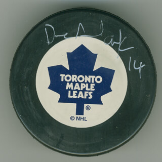 DAVE ANDREYCHUK - HOCKEY PUCK SIGNED