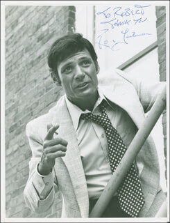 RON LEIBMAN - AUTOGRAPHED INSCRIBED PHOTOGRAPH