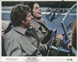 RYAN O'NEAL - AUTOGRAPHED INSCRIBED PHOTOGRAPH