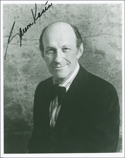 GARSON KANIN - AUTOGRAPHED SIGNED PHOTOGRAPH