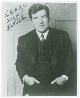 ROBERT PRESTON - AUTOGRAPHED INSCRIBED PHOTOGRAPH