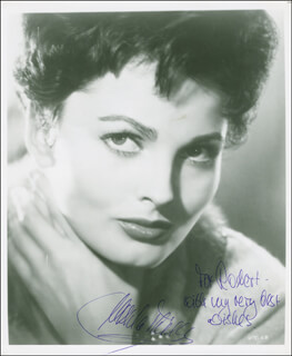 URSULA THIESS - AUTOGRAPHED INSCRIBED PHOTOGRAPH