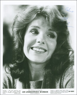 JILL CLAYBURGH - AUTOGRAPHED INSCRIBED PHOTOGRAPH