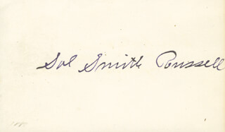 SOL SMITH RUSSELL - AUTOGRAPH