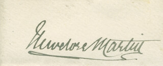 SIR THEODORE MARTIN - AUTOGRAPH