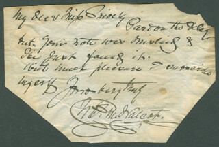 CHARLES M. WALCOT SR. - AUTOGRAPH LETTER SIGNED