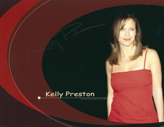 KELLY PRESTON - AUTOGRAPHED SIGNED PHOTOGRAPH