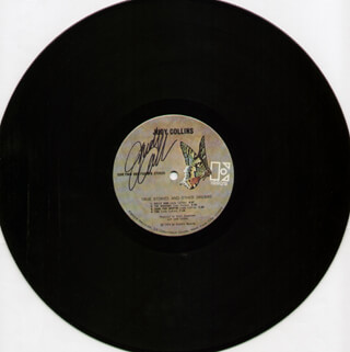 JUDY COLLINS - RECORD SIGNED