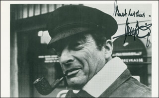 VICTOR BORGE - AUTOGRAPHED SIGNED PHOTOGRAPH