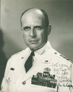 GENERAL MATTHEW B. RIDGWAY - AUTOGRAPHED INSCRIBED PHOTOGRAPH