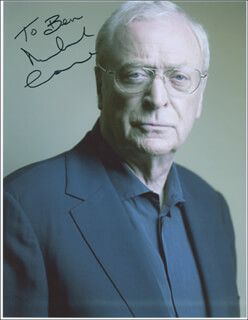 MICHAEL CAINE - AUTOGRAPHED INSCRIBED PHOTOGRAPH