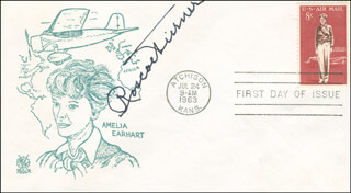 ROSCOE TURNER - FIRST DAY COVER SIGNED