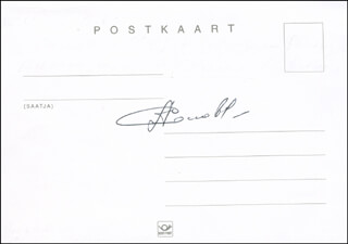 COLONEL ANATOLY SOLOVYEV - AUTOGRAPH