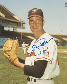 JIM PALMER - AUTOGRAPHED SIGNED PHOTOGRAPH