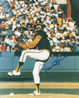 ROLLIE FINGERS - AUTOGRAPHED SIGNED PHOTOGRAPH