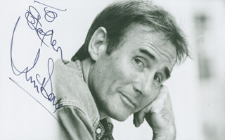 JIM DALE - AUTOGRAPHED INSCRIBED PHOTOGRAPH
