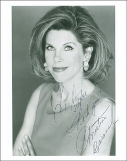 CHRISTINE BARANSKI - AUTOGRAPHED INSCRIBED PHOTOGRAPH