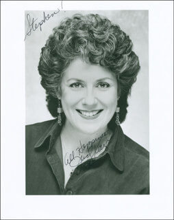 JUDY KAYE - AUTOGRAPHED INSCRIBED PHOTOGRAPH