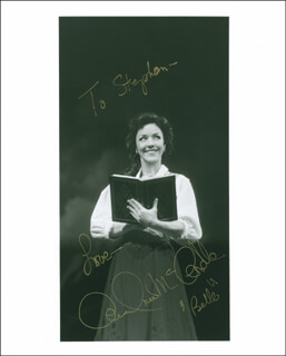 ANDREA MCCARDLE - AUTOGRAPHED INSCRIBED PHOTOGRAPH