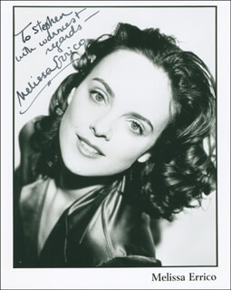 MELISSA ERRICO - AUTOGRAPHED INSCRIBED PHOTOGRAPH