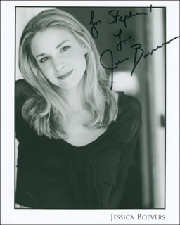 JESSICA BOEVERS - AUTOGRAPHED INSCRIBED PHOTOGRAPH