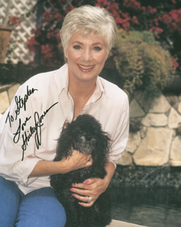 SHIRLEY JONES - AUTOGRAPHED INSCRIBED PHOTOGRAPH